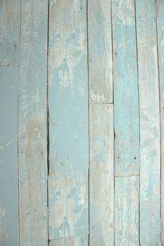 Vlies Tapete Antik Holz rustikal blau türkis beige verwittert