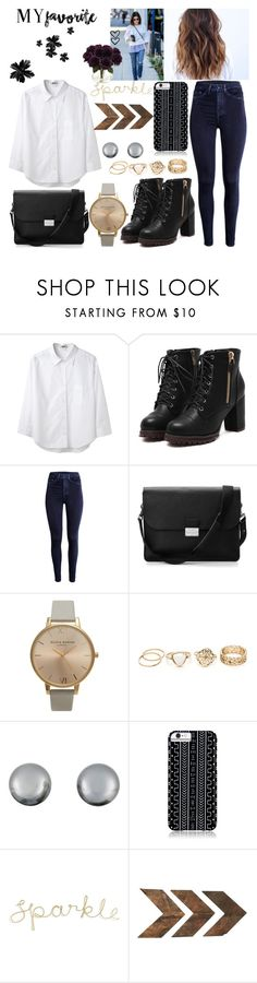 """""""Untitled #644"""" by aly-july ❤ liked on Polyvore featuring Acne Studios, H&M, Aspinal of London, Olivia Burton, Kenneth Jay Lane, Savannah Hayes, WALL and Nearly Natural"""