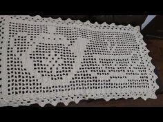 tapete crochê quadrado simples bules e xícara fácil de fazer (1 parte) - YouTube