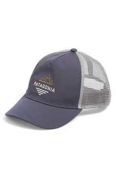 color  WHITE Patagonia  Peak to Paddle  Trucker Hat available at 6e535ada0a0b