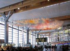 Architecture and Art - Oslo Airport