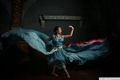Design: Alice Andrews Designs Parachute Dress, RENTAL available. Model: Erin Leigh Pribyl Photo: Babar Cinematographer