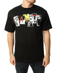 Famous Stars And Straps Men's Trashed Graphic T-Shirt