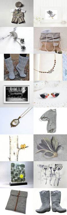 Gray Skies, Great Finds by Heather on Etsy--Pinned with TreasuryPin.com