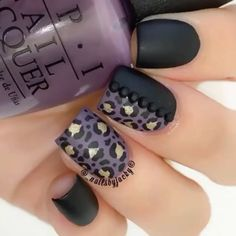 """""""Sexy leopard nails by @_nailsbyjacky """""""