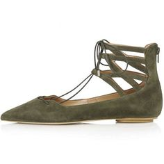 TOPSHOP KATHY Ghillie Pointed Shoes