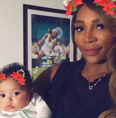 Serena Williams | Family photos, cards, and holiday glitz are filling the social media pages of just about every celebrity.Family photos, cards, and holiday glitz are filling the social media pages of just about every celebrity.