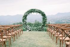ceremony backdrop Outdoor Wedding Reception, Wedding Ceremony Decorations, Outdoor Weddings, Real Weddings, Italy Wedding, Our Wedding, High School Sweethearts, Days Of The Year, Ceremony Backdrop