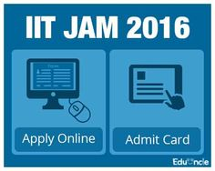 Eduncle is one of the best platform in online study for IIT JAM. Get IIT JAM Application form here.