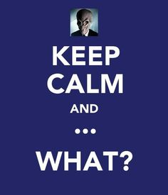 Made this Doctor Who themed Keep Calm poster for my fellow whovian @Allen Kesinger