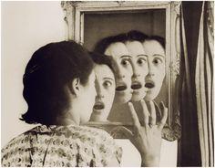 chagalov:  Grete Stern, Sueños 43. Los Sueños de espejo, 1949 [+] via lapetitemelancolie