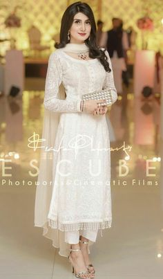 Most Gifts that Keeps fitness babes Pakistani Dress Design, Pakistani Outfits, Indian Outfits, Stylish Dresses, Simple Dresses, Fashion Dresses, Hijab Fashion, Party Wear Dresses, Bridal Dresses