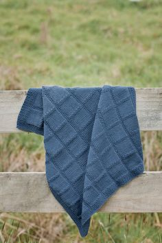 PDF Baby Knitting Pattern   Babies First Blanket by NaturalStar, $8.00