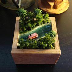 Tiny Jungle CruiseModel - Imagineering Disney