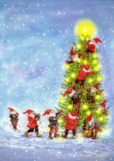 Kuva albumissa CARINA STÅHLBERG - Google Kuvat Christmas Tree, Holiday Decor, Google, Painting, Home Decor, Art, Teal Christmas Tree, Art Background, Decoration Home