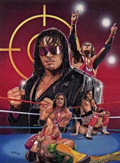 Bret 'Hitman' Hart: A Look Inside The Pink & Black Attack