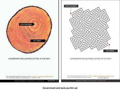 Lewis Longman - Land Use campaign print advertisements