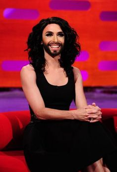When Conchita Wurst met Graham Norton | News | Eurovision Song Contest - Copenhagen 2014