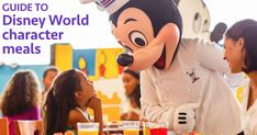 One of the things that many people want to include on Disney World trips is character meals but there are so many to choose from. Here's a guide to help.