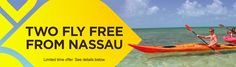 Two Fly Free From Nassau to The Bahama Out Islands - Limited time offer...@ myoutislands.com