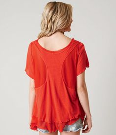 Free People Cookie Top - Women's Shirts/Blouses in Red | Buckle