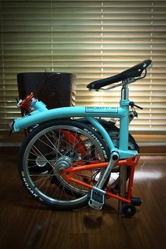 Brompton Gulf Racing edition http://cafe.naver.com/brompton/69103 프란힐리 from Naver Brompton club Korea all right reserved