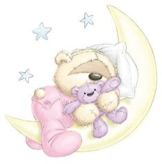 The Moon & Stars w/Fizzy Moon Tatty Teddy, Cute Images, Cute Pictures, Fizzy Moon, Moon Bear, Teddy Bear Pictures, Blue Nose Friends, Baby Clip Art, Cute Clipart