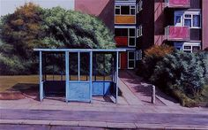 Turner Prize nominee George Shaw explains how a run-down corner of his home town fires his imagination. Urban Furniture, Street Furniture, Cheap Furniture, Turner Prize, Mask Painting, Royal College Of Art, Built Environment, Urban Landscape, Painting Inspiration