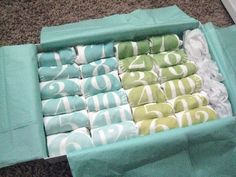 Lil Sproutin' BABY Collection | Numbered Baby Onesies | Premium Gift Packaging Available