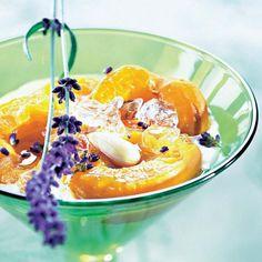 Abricots au lait d'amandes