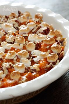 Sweet Potato Casserole for Thanksgiving! Must. #Anthropologie #PinToWin