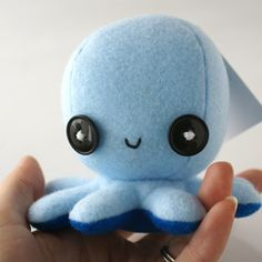 Octopus pin cushion...he would be such a cute homemade toy!