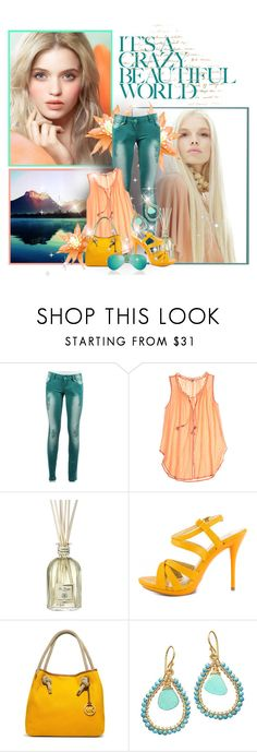 """Untitled #216"" by jen-ela ❤ liked on Polyvore featuring Jill Stuart, Calypso St. Barth, Dr. Vranjes, Promise Shoes and Calico Juno Designs"