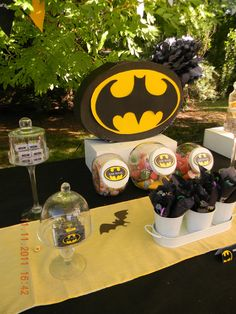 "Photo 17 of 29: Batman / Birthday ""batman party"" 