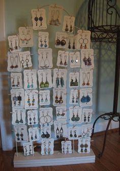 Mesas de exposición de artesanía