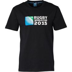 Canterbury Mens 2015 Logo T-Shirt Black Canterbury Rugby World Cup 2015 short sleeve jersey tee. http://www.MightGet.com/february-2017-2/canterbury-mens-2015-logo-t-shirt-black.asp