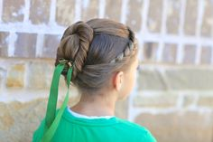 Anna's Coronation Hairstyle from Disney's Frozen and more Hairstyles from CuteGirlsHairstyles.com