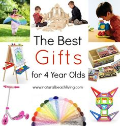 The Best Gifts for 4 year olds, Open ended toys, outdoor play, STEM, Great… Montessori Toys, Preschool Toys, Montessori Toddler, Birthday Gifts For Girls, Gifts For Kids, Birthday Ideas, 4 Year Old Christmas Gifts, Christmas Traditions, Christmas Ideas