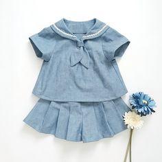 91ffaaa3dba0e カラフルネップのセーラーシャツ&キュロット | Handmade Shop~ Le confille  (ハンドメイド・オーダーメイド・委託販売・代行販売) on the BASE