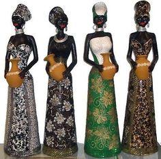 Resultado de imagem para bonecas africanas