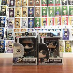 New additions to my rock set--Jerry Garcia and Joey Ramone. March is bad for me and pops..damn it!  #rock #music #ramones #originalfunko #funko #funkopop #funkopops #pop #popvinyl #vinyl #love #vinylcollection #collector #collectibles #toy #toys #cartoon #cartoon #movie #movies #tv #television #disney #marvel #marvelcomics #starwars #dc #dccomics #comics #gottahavemypops