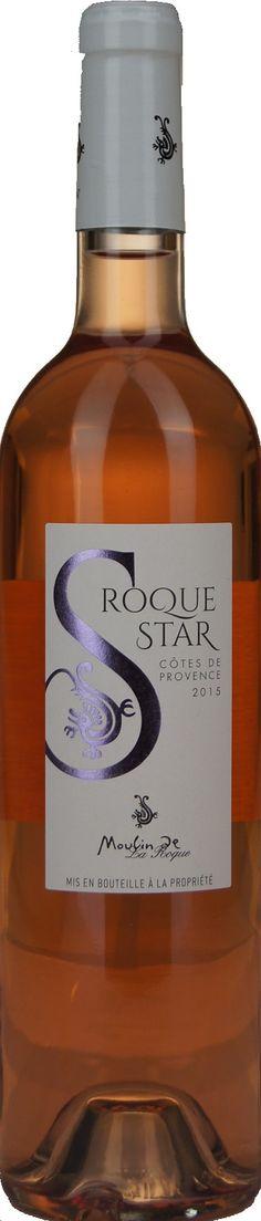Roque Star - Moulin de la Roque - Côtes de Provence rosé A.O.P. | Dewit Wijnen