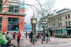 steam clock Vancouver Roadtrip San Francisco - Vancouver