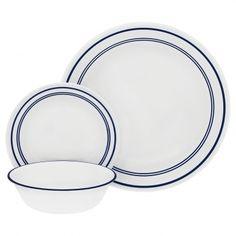 Corelle 20 Piece Livingware Dinnerware Set with Storage, Spring Pink ...