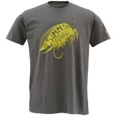 Simms Hooked Short Sleeve Tee Shirt - CLOSEOUT - Fishwest
