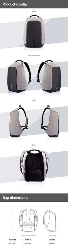 Bobby, the Best Anti Theft backpack by XD Design by XD Design — Kickstarter