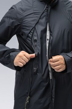 ACRONYM® Gore Tex, Pocket Detail, Fashion Details, Double Breasted, Chef Jackets, Raincoat, Clothes, Cow, Lifestyle