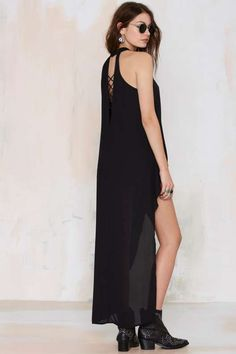 Blew Through It High/Low Maxi Top