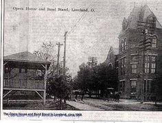 photos of historial loveland ohio Loveland Ohio, Loveland Colorado, Local Attractions, Bike Trails, Old Photos, Opera House, History, Image, Old Pictures