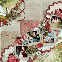 Christmas past  Kit: Christmas Past - GDS Dec 2012 Collab  Template: Fuss Free Shake it 4 - Fiddle-dee-dee Designs  Font: Dutch & Harley